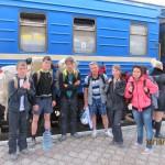 Туристичний похід.Крим 2013